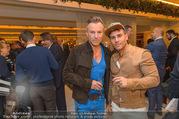 Re-Opening - LeMeridien - Mo 19.09.2016 - Uwe KR�GER mit Kiko (Freund, Mann)50