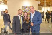 Vienna Contemporary Opening - Marx Halle - Mi 21.09.2016 - Burkhard ERNST mit Ehefrau Katharina, Thomas JAKOUBEK121