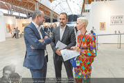 Vienna Contemporary Opening - Marx Halle - Mi 21.09.2016 - Christina STEINBRECHER-PFANDT, Thomas DROZDA, Dmitry AKSENOV25