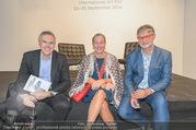 Vienna Contemporary Opening - Marx Halle - Mi 21.09.2016 - Christoph THUN-HOHENSTEIN, Agnes HUSSLEIN, Peter COELN78