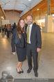 Vienna Contemporary Opening - Marx Halle - Mi 21.09.2016 - Burkhard ERNST mit Ehefrau Katharina88