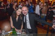 Schikaneder Premierenfeier - Rathaus - Fr 30.09.2016 - Thomas DROZDA mit Ehefrau Isabella21