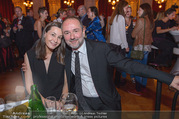 Schikaneder Premierenfeier - Rathaus - Fr 30.09.2016 - Thomas DROZDA mit Ehefrau Isabella22