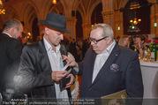 Schikaneder Premierenfeier - Rathaus - Fr 30.09.2016 - Gernot KRANNER, Markus SPIEGEL37