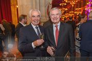 Schikaneder Premierenfeier - Rathaus - Fr 30.09.2016 - Hannes NEDBAL, Thomas SCH�FER-ELMAYER8