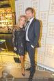Restaurant Opening - Graben30 - Mi 12.10.2016 - Lidia BAICH mit Freund Andreas SCHAGER28