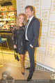 Restaurant Opening - Graben30 - Mi 12.10.2016 - Lidia BAICH mit Freund Andreas SCHAGER29