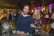 Restaurant Opening - Graben30 - Mi 12.10.2016 - Stefan MAIERHOFER mit Freundin Cornelia DOMA5