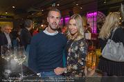 Restaurant Opening - Graben30 - Mi 12.10.2016 - Stefan MAIERHOFER mit Freundin Cornelia DOMA6