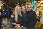 Restaurant Opening - Graben30 - Mi 12.10.2016 - Adil BESIM mit Ehefrau Anita, Yvonne RUEFF82