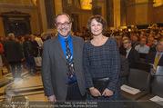 Wie alles begann - Ausstellungseröffnung - Naturhistorisches Museum NHM - Di 18.10.2016 - Christian K�BERL mit Ehefrau22