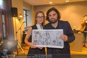 Buchpräsentation - Restaurant Filippou - Di 18.10.2016 - Kontantin und Manuela FILIPPOU13