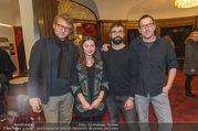 Kinopremiere Soko Danub - Metrokino - Fr 02.12.2016 - Heinrich AMBROSCH, Luna AL-MOUSLI, Martin SCHL�GL,Tobias PICHLE17