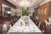 Cathy Lugner Geburtstagsfeier - Restaurant Angelo - Sa 10.12.2016 - Tisch, Tafel1