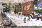 Cathy Lugner Geburtstagsfeier - Restaurant Angelo - Sa 10.12.2016 - Tisch, Tafel2