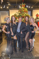 Richard Lugner bei Modenschau - Miss Moda Lugner City - Sa 10.12.2016 - Richard LUGNER mit Models2