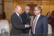 Andre Hellers Menschenkinder - Palais Niederösterreich - Di 13.12.2016 - Erwin PR�LL, Andre HELLER, Alexander WRABETZ20