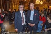 Andre Hellers Menschenkinder - Palais Niederösterreich - Di 13.12.2016 - Alexander WRABETZ, Karlheinz ESSL26
