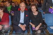 Andre Hellers Menschenkinder - Palais Niederösterreich - Di 13.12.2016 - Karlheinz ESSL mit Ehefrau Agnes30