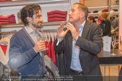 Opening - Brax Store Wien - Mi 14.12.2016 - Stefano BERNARDIN, Benno FÜRMANN26
