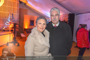 Erwin Pröll 70er Geburtstagsfeier - Stift Göttweig - Sa 17.12.2016 - Hans J�rg SCHELLING mit Ehefrau Uschi15