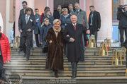 Erwin Pröll 70er Geburtstagsfeier - Stift Göttweig - Sa 17.12.2016 - Erwin PR�LL mit Ehefrau Sissi (Elisabeth)18