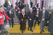 Erwin Pröll 70er Geburtstagsfeier - Stift Göttweig - Sa 17.12.2016 - Erwin PR�LL mit Ehefrau Sissi (Elisabeth)20