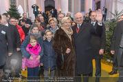 Erwin Pröll 70er Geburtstagsfeier - Stift Göttweig - Sa 17.12.2016 - Erwin PR�LL mit Ehefrau Sissi (Elisabeth) und Familie (Tochter)25