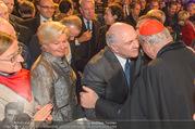 Erwin Pröll 70er Geburtstagsfeier - Stift Göttweig - Sa 17.12.2016 - Erwin und Sissi PR�LL, Kardinal Christoph SCH�NBORN47