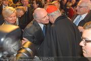 Erwin Pröll 70er Geburtstagsfeier - Stift Göttweig - Sa 17.12.2016 - Erwin und Sissi PR�LL, Kardinal Christoph SCH�NBORN48