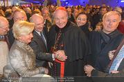 Erwin Pröll 70er Geburtstagsfeier - Stift Göttweig - Sa 17.12.2016 - Erwin und Sissi PR�LL, Kardinal Christoph SCH�NBORN, U. STRAUS50