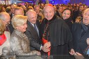 Erwin Pröll 70er Geburtstagsfeier - Stift Göttweig - Sa 17.12.2016 - Erwin und Sissi PR�LL, Kardinal Christoph SCH�NBORN, U. STRAUS51