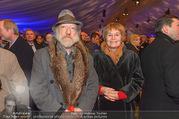 Erwin Pröll 70er Geburtstagsfeier - Stift Göttweig - Sa 17.12.2016 - Roland NEUWIRTH mit Andrea NEUWIRTH61