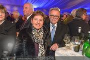 Erwin Pröll 70er Geburtstagsfeier - Stift Göttweig - Sa 17.12.2016 - Hans NIESSL mit Ehefrau Christine81