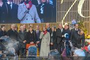 Erwin Pröll 70er Geburtstagsfeier - Stift Göttweig - Sa 17.12.2016 - Johanna MIKL-LEITNER und Regierungsteam auf der B�hne86