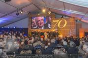 Erwin Pröll 70er Geburtstagsfeier - Stift Göttweig - Sa 17.12.2016 - G�ste im Festzelt, Erwin PR�LL auf der Vidiwall89