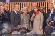 Erwin Pröll 70er Geburtstagsfeier - Stift Göttweig - Sa 17.12.2016 - Johanna MIKL-LEITNER, Erwin und Sissi PR�LL90