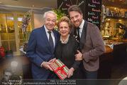 Serafins Geburtstagsfeier - Kulinarium 7 - Di 20.12.2016 - Familie Harald und Ingeborg Mausi SERAFIN mit Sohn Daniel1