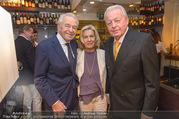 Serafins Geburtstagsfeier - Kulinarium 7 - Di 20.12.2016 - Christine und Franz VRANITZKY, Harald SERAFIN14