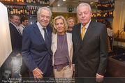 Serafins Geburtstagsfeier - Kulinarium 7 - Di 20.12.2016 - Christine und Franz VRANITZKY, Harald SERAFIN15