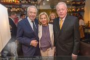 Serafins Geburtstagsfeier - Kulinarium 7 - Di 20.12.2016 - Christine und Franz VRANITZKY, Harald SERAFIN16