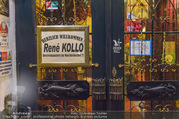 Rene Kollo Tourneefeier - Marchfelderhof - Do 05.01.2017 - Schild an der T�r1