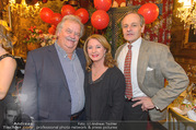 new years welcome dinner party - Marchfelderhof - Di 10.01.2017 - Gerhard ERNST, Gabriele BENESCH, Franz SUHRADA28