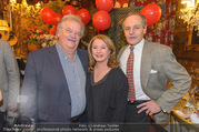 new years welcome dinner party - Marchfelderhof - Di 10.01.2017 - Gerhard ERNST, Gabriele BENESCH, Franz SUHRADA29