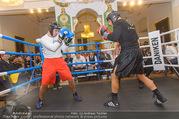 Freundschafts Treffer - Palais Palffy - Sa 14.01.2017 - Action im Boxring17