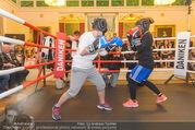 Freundschafts Treffer - Palais Palffy - Sa 14.01.2017 - Action im Boxring35