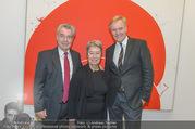 Markus Prachensky Ausstellung - Albertina - Di 17.01.2017 - Heinz und Margit FISCHER, Klaus Albrecht SCHRÖDER1