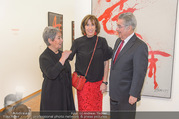 Markus Prachensky Ausstellung - Albertina - Di 17.01.2017 - Heinz und Margit FISCHER, Brigitte PRACHENSKY20