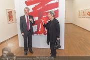 Markus Prachensky Ausstellung - Albertina - Di 17.01.2017 - Heinz und Margit FISCHER21