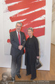 Markus Prachensky Ausstellung - Albertina - Di 17.01.2017 - Heinz und Margit FISCHER23
